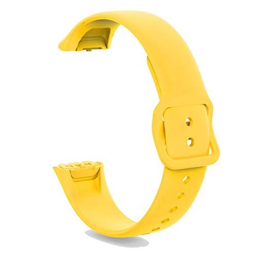 Neubula - Correa de silicona para reloj inteligente Samsung Galaxy Fit SM-R370 (amarillo)