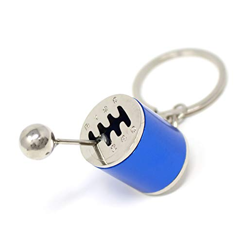 Porte-clés « boîte de 6 vitesses », VmG-Store, bleu