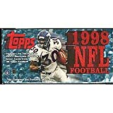 1998 Topps Football Series Factory Sealed Set Which Includes Rookie Cards of Peyton Manning and Randy Moss Plus Stars Including Jerry Rice, Brett Favre, John... rookie card picture