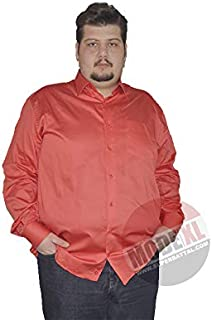 Mode XlBüyük Beden Erkek Klasik Uzun Kollu Pamuk Saten Gömlek Nc