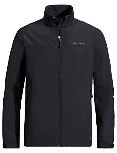 VAUDE Herren Jacke Men's Hurricane IV, Softshelle, black, 54, 413110105500