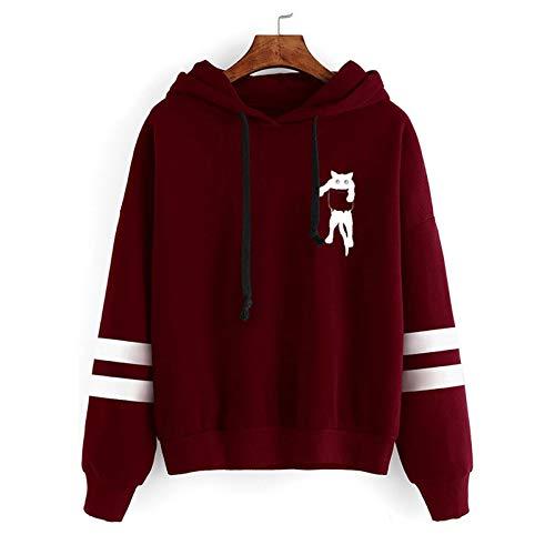 SEWORLD Women Sweatshirt Plus Size Winter Warm Composite Plush Button Lapels Jacket Outwear Coat Tops Wine
