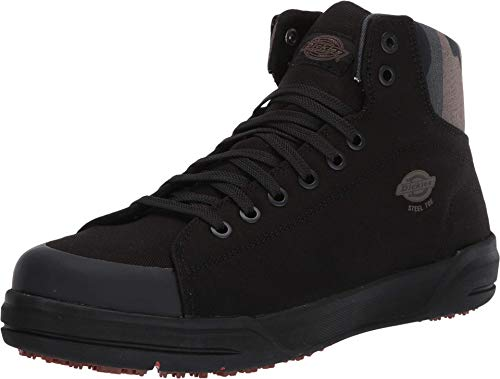 Dickies mens Supa Dupa Mid St Astm Sr Fire and Safety Shoe, Black/Camo, 10 US