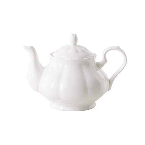 LRHD Cafetera de cerámica de gama alta de la tetera del hogar de gran capacidad Inglés Milk Tea Tea Pot tetera de la porcelana con filtro, 950ml grande tetera de la porcelana con tapa, la porción de l