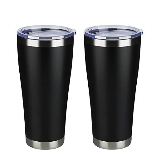 MEWAY 32oz Coffee Tumblers Bulk 2 Pack Vacuum Insulated Cups