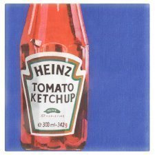 Officiële Heinz Tomaat Ketchup Party Papier Servetten 2 Ply Pack van 16