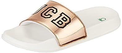 United Colors of Benetton Women's 21p8slid2433i Slide Sandal