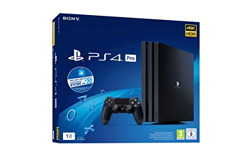 PS4 Pro 1 TB + voucher 20€ PS Store