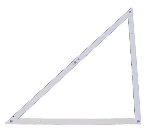Stanley Bauwinkel klappbar (Aluminium, leicht demontierbar, 45°-, 90°-und Spitzwinkel, Aufhängauge) 1-45-013
