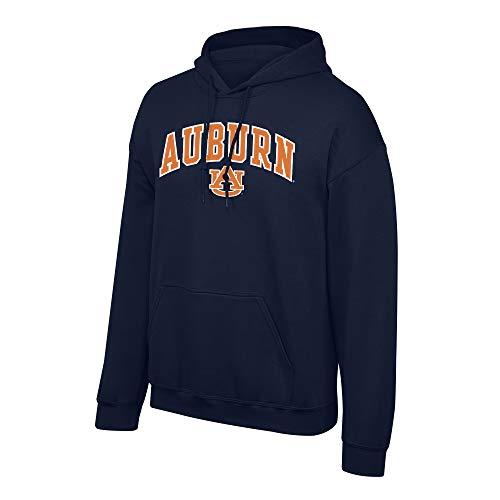Elite Fan Shop Fan-Favorite Team Color Arch Hoodie Sweatshirt, Herren, Team Color Arch Hoodie Sweatshirt, Auburn Tigers Navy, Medium