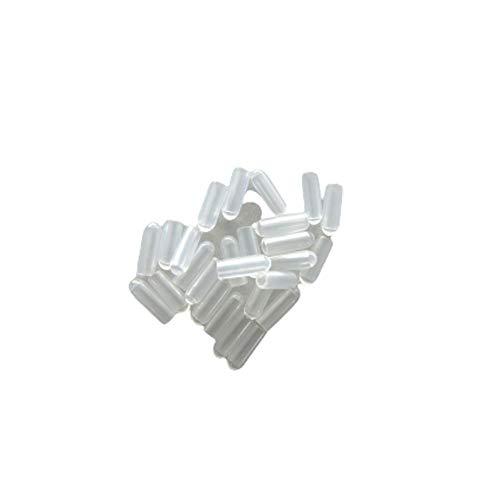 オリタニ 針金ハンガー キャップ クリア 透明 25個入 ひっかかり防止 安全 先端 傷つけない