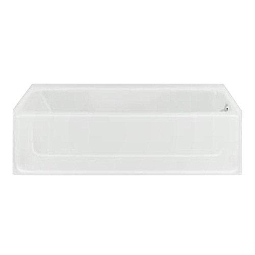 STERLING 61041120-0 All Pro Bathtub, 60-Inch x...