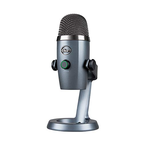 Blue Microphones Yeti Nano USB コンデンサー マイク Shadow Gray イエティ ナノ シャドー グレー BM300SG PC MAC PS4 USB ストリーミング 配信 ストリーマー テレワーク web会議 国内正規品 2年間メーカー保証