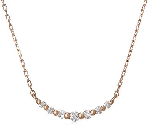 [VAヴァンドーム青山] VA VENDOME AOYAMA K18PG ダイヤモンド 0.09ct スリール ネックレス GGAN005740DI