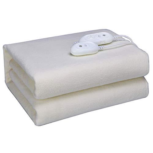 NHL-DRT dubbele radiator, dubbel dubbel verwarmingsdeken, hoogwaardig lamsvel warm en comfortabel, slaapkamerbeddengoed 180 * 170 cm, warme matras