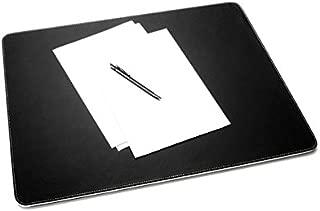 SIGEL SA106 Vade de escritorio Eyestyle white, negro, capa intermedia y costuras de color blanco, 600x6x450 mm