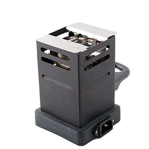 shentaotao Mini-Platz Potable Charcoal Oven Hot Plate Kohle Brenner Rohre Zubehör Mit Eu-stecker Schwarz