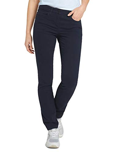 TOM TAILOR Damen 1025835 Alexa Slim Jeans, 10668-Sky Captain Blue, 46W / 32L