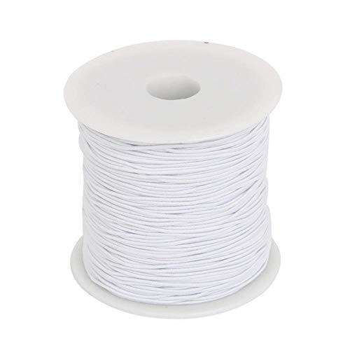 2 Rolle Nylonfaden Nylonschnur schwarz elastisch Stretch 1,0 0,6 Crystal Thread