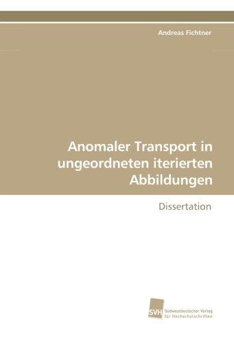 Anomaler Transport in ungeordneten iterierten Abbildungen: Dissertation