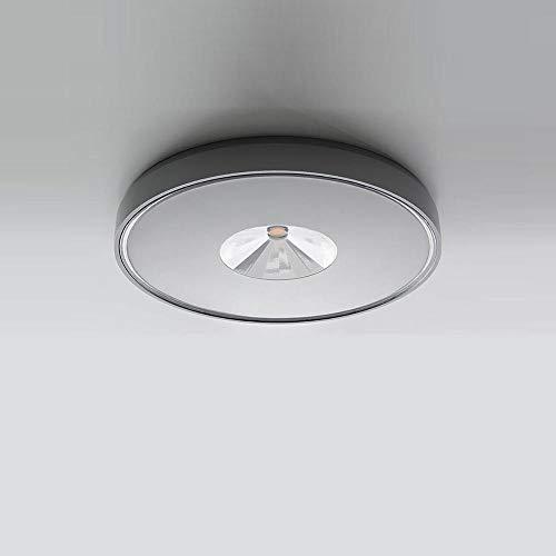 IVELA LED Aussen-Deckenlampe PN100T IP65 400lm Grau
