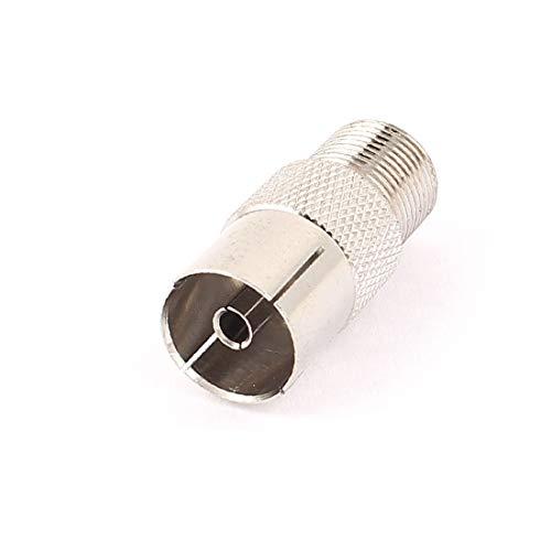 X-DREE TV-Antennenbuchse an F-Typ-Buchse Buchse Adapter Konverter anschrauben (976df1a2c218c2f3e686f05abdd95962)