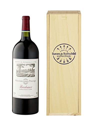 Barons de Rothschild Lafite - Selection Prestige - 1,5 Liter Magnumflasche in Holzkiste