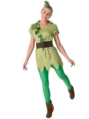 Rubie's 880999 Offizielles Peter Pan-Kostüm, Damen, Größe L