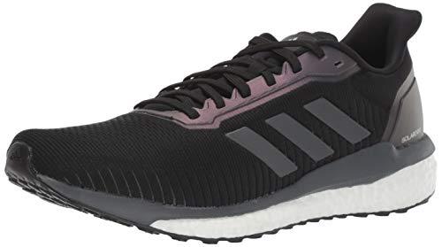 adidas Solar Drive 19, Zapatillas para Correr Hombre, Negro Gris Blanco, 48 EU