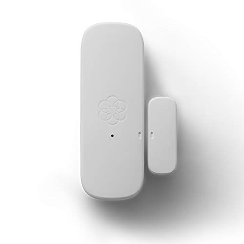 Ooma Door and Window Sensor, works with Ooma Smart Home Security. No contracts and free self-monitor plan. Optional professional monitoring, motion, keypad, water sensor, and garage door sensor