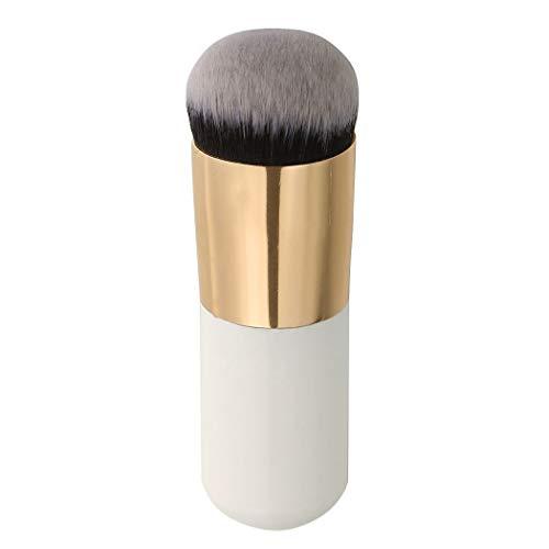 Lumanuby Brosse de maquillage dorée