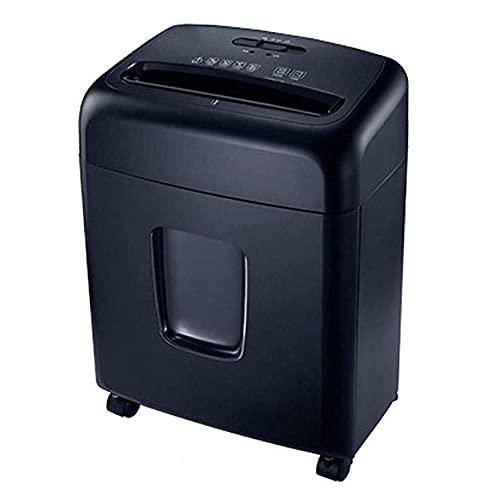Totalmente automático pequeña oficina del hogar portátil Trituradora, Trituradora de alta potencia A4, Documento de residuos trituradora de papel 335x230x455 Mm