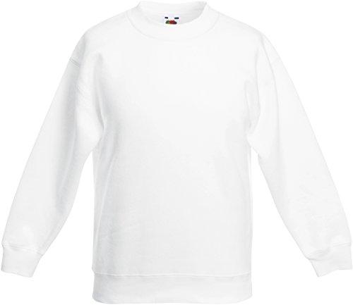 Kids Set-In Sweatshirt 140 (9-11),White