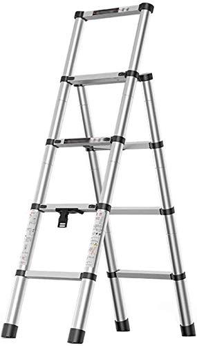 YZH Scale Portatili Leggere Stepladders per Uso Domestico Portatile Steab Step Step Step per con la Scala Multi-Use di HandGrip (Color : B, Size : 4-Tier)