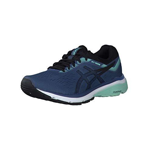 Asics Gt-1000 7, Zapatillas de Running Mujer, Azul (Grand Shark/Black 401), 36 EU