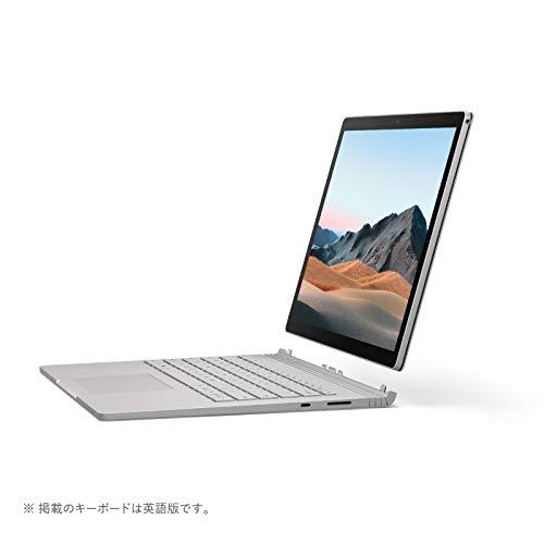 マイクロソフトSurfaceBook3[サーフェスブック3ノートパソコン]OfficeHomeandBusiness2019/13.5インチPixelSenseディスプレイ/Corei5/8GB/256GBdGPU搭載V6F-00018