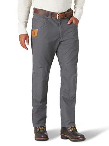 Wrangler Herren Straight Leg Utility Pant Arbeitshose, Nadelstreifen Grau, 40W / 36L