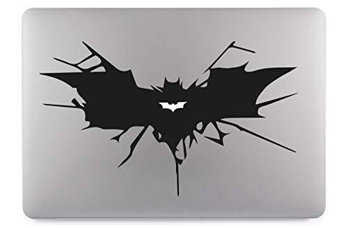 Batman Symbol Aufkleber Skin Decal Sticker Vinyl geeignet für Apple MacBook Air Pro Notebooks Laptops Apple, Auto, Glatte Oberflächen (17
