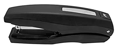 PraxxisPro Basileus Heavy Duty Desktop Stapler, Bronze, Staples 2 to 40 Sheets Flat-Clinch, Includes 1,280 Staples - Jam Free Stapler Value Pack for Professional and Home Office Use.