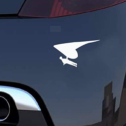 14.5x8.5Cm Auto Sticker Decals Glider Glider Paragliding Motorfiets Sticker s Accessoires voor Auto Laptop Window Sticker