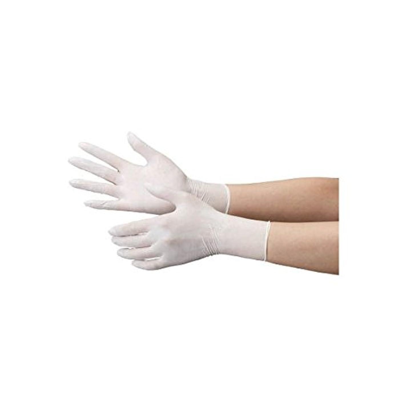 スキップコンピューターを使用するカウントアップミドリ安全/ミドリ安全 ニトリル使い捨て手袋 極薄 粉なし 100枚入 白 S(3889092) VERTE-711-S [その他]
