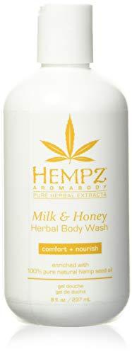 Hempz Milk and Honey Herbal Body Wash, 8 ounces