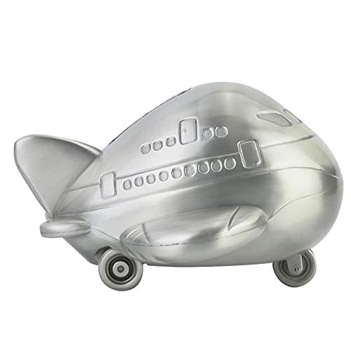 ROMACK Alcancía, Robusto Banco de Monedas de avión con carácter de Metal Creativo, alcancía de Penny para niños, Regalos para niños y niñas, Decoraciones de Escritorio.