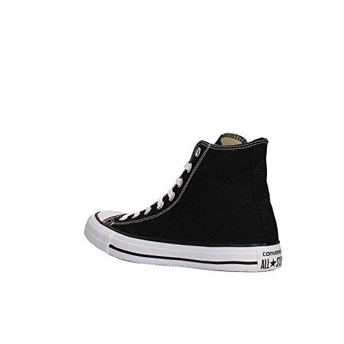 Converse All Star Hi Canvas Zapatillas Negras-UK 9