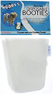 Nooby's Veterinary Dog Boots 8-Pack Protects Wounds, Bandages and Casts Indoors and During Short Walks Outside. Medical Dog Booties for Maximum Wound Recovery. (SM 1.75