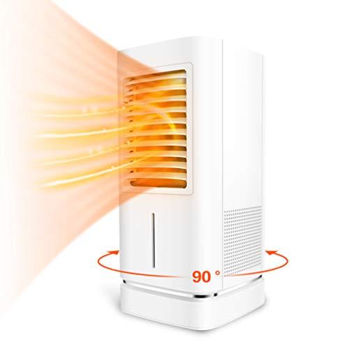Keramische ventilatorkachel, 2000 W/1000 W elektrische verwarming met bevochtiging met oscillatiefunctie, elektrische verwarming, snelverwarming, 90 ° automatische draaiing, 2 warmtestanden, 12 uur timer, badkamer, binnenruimte
