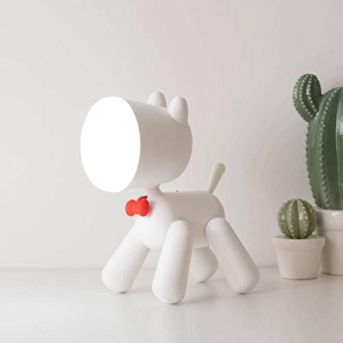 USB-oplaadbare tafellamp, cartoon puppy lief nachtlampje decoratief bedlampje voor kinderslaapkamer