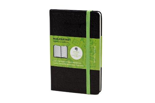 Moleskine Evernote Notizbuch Pocket, Hardcover, kariert schwarz