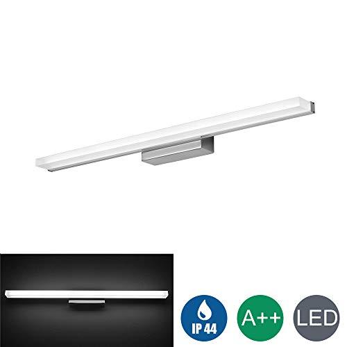 Lampe pour Miroir LED, Applique Salle de Bains, Lampe Armoire Miroir, Applique Murale Intérieure Moderne lumière Luminaire Salle de Bain IP44 6000K Blanc froid 120cm