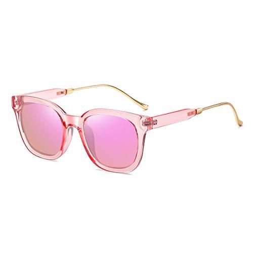 levliong Gafas de sol para mujer, retro, polarizadas, ojos de gato, gafas de sol para mujer, protección UV